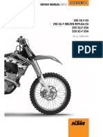 2012 Ktm 250 Sx-f Xc-f Sx-f Repair Manual