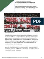 No Futebol, o Racismo Continua a Marcar Golos - PÚBLICO