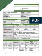 Aiman NUB CV Application Form English