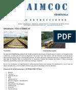 Manual de Terminos Ferroviarios. Daimcoc Venezuela