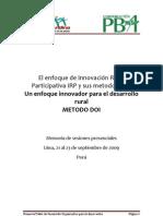 MemoriasTaller DOI Peru[1]