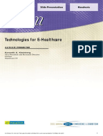 Tech for EHealthcare