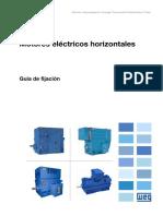 WEG Guia Para Fijacion de Motores Electricos 10004532208 Articulo Tecnico Espanol