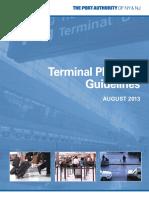 Panynj Terminal Planning Guidelines