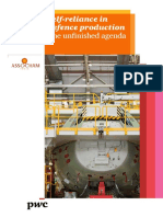 Self Reliance in Defence Production - ASSOCHAM PWC White Paper