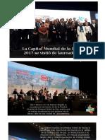 XVI Cumbre Mundial Nobeles de Paz 2017