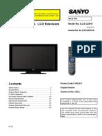 Sanyo+LCD-32XH7+Noblex+32LC820H+Philco+PLH3210+JVC++LT32R50+Chasis++UE6L