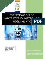 material del laboratorio de química, práctica 1