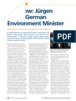 Interview Jurgen Trittin German Environm