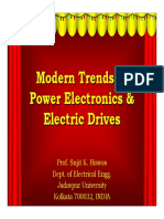 Modern Trends in Power Electronics & Drives
