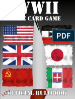 WWII the Card Game Rulebook