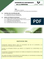 Tema 4. Dispersion de Contaminantes en La Atmosfera