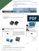 At-MO PRODUCTION_ Cara Merangkai Relay 5v Dan 12v Buat Arduino Uno ( Relay SPDT) 5 Pin