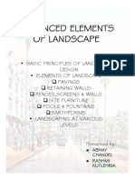 Basic Principles of Landscape Design Report