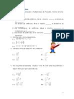 Ficha de Revisões,Fracções