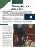 Schweizer Bank - TV-Knopfdruck Zur Bank - Ralph Kappler - Datamonitor - London