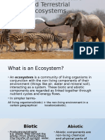 Ecosystems-Structure and Major Types of Ecosystems