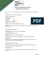 6005ugsl Coursework Brief