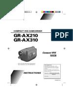 JVC GR-AX210