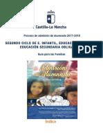 Guia Familias - proceso de admisión