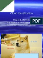 cloud identification powerpoint ppt