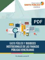 841531564-Gasto Público y Rigideces Institucionales de Las Finanzas PúUblicas Venezolanas - Centro de Digulagación Para El Conocimiento Económico