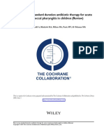 Duration Cochrane
