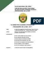 Monografia Delitos Elementos Constitutivos Dolo y Culpa - A2 Pnp Machaca Mamani Cristhian - 2017