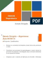 Algoritmo EstudoDirigidode09!09!14
