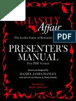 Ghastly Affair Presenters Manual Free PDF