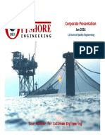 Offshore Engineering Corporate Presentation-June-2016