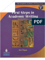 1 First Steps in Academic Writing