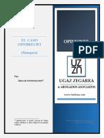Inform Ugaz - Odebrecht Ene 2017