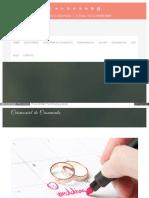 Cerimonial de Casamento HTML