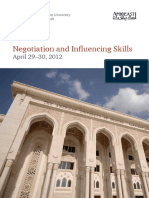 Negotiation and Influencing Skills (1)