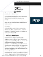 Inflation_ Types, Causes and Effects (With Diagram)