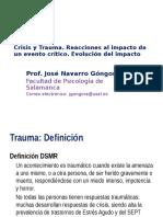 Crisis y Trauma Navarro 25-05-2016