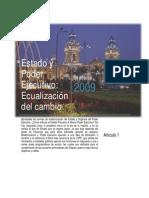 Estado y Poder Ejecutivo_ Ecualización del Cambio