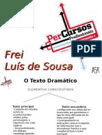 Frei Luís de Sousa Síntese Da Obra
