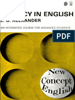 New Concept English FLUENCY in ENGLISH, An Integrated Course for Advanced Students