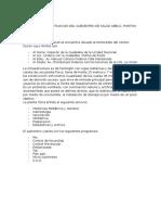 Diagnosticos de Situacion Del Subcentro de Salud Abelg