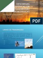 Descargas Atmosféricas Em Linhas de Transmissão Monofásicas