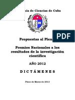 Dictamenes Premios Acc 2012