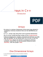 Ch1_Arrays in C++