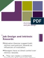 CH9_PRESENTATION_intrinsic Rewards Job Design
