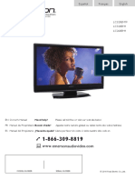 Emerson LC320EM1 TV User Manual