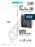 Instrukcja Canon Pss80 Eng