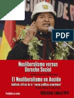 Biblioteca Laboral No. 4 - Neoliberalismo (Aguilar Peñarrieta & Ramos Sanchez) (2015)