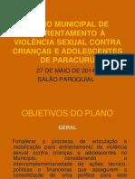 _apresentação Plano de Violência Sexual - Paracuru