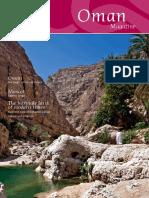 Oman Magazine 2013